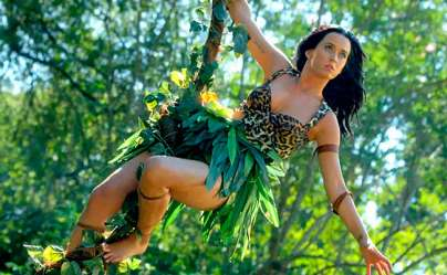 Katy Perry from Roar video